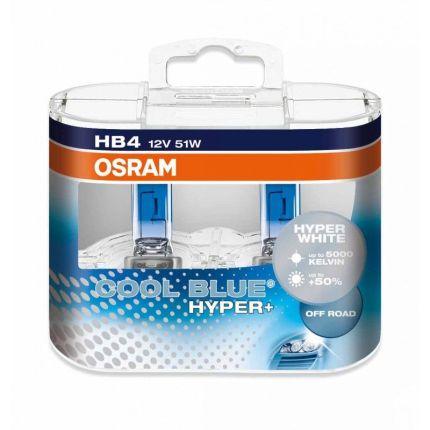Галогеновая лампа Osram 69005CBH+ Cool Blue Hyper PLUS HB3 70W 12V P20d 10X2 HardDuopet Компл (2шт)