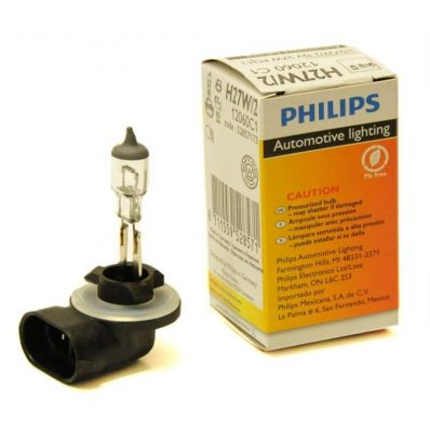 Галогеновая лампа Philips H27W/2 12V 27W (12060) 1 шт