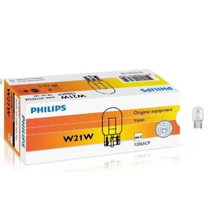 Лампа накаливания Philips 12065 W21W 12V 1 шт
