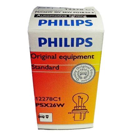Галогеновая лампа Philips 12278C1 PSX26W 12V 26W 1 шт