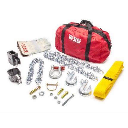 Такелажный набор Hi-Lift 6 ед. (цепь с крюком, скоба для крепления за «клюв», стропа, шакл, перчатки, сумка)