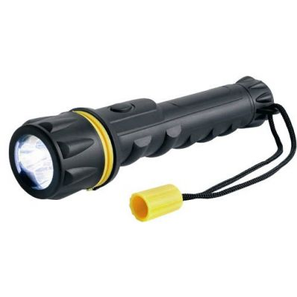 Прорезиненный светодиодный фонарь Ring RT5148