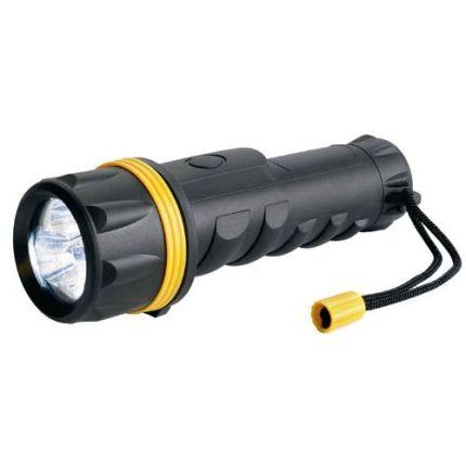 Прорезиненный светодиодный фонарь Ring RT5149