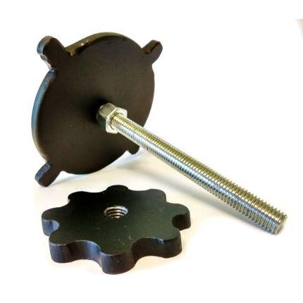 Крепление для канистры металлическое
