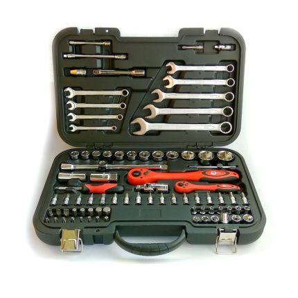 Профессиональный набор инструмента 82 ед. Intertool ET-6082