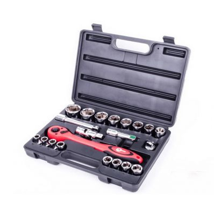 Профессиональный набор инструмента Intertool ET-6021 21 ед.