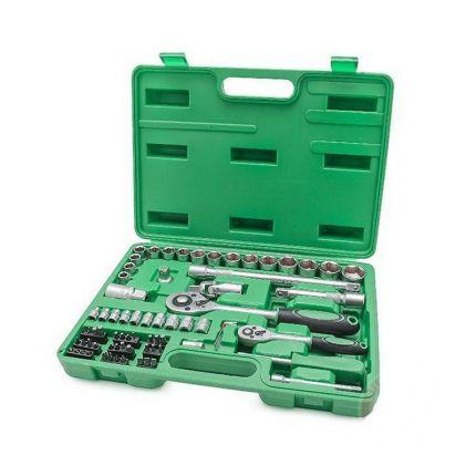 Набор инструментов Intertool ET-6072SP 72 ед.