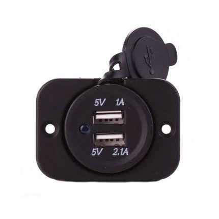 Автомобильное зарядное устройство USB RS CC213