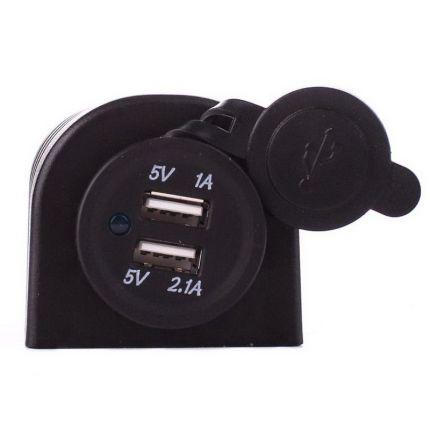 Автомобильное зарядное устройство USB RS CC313