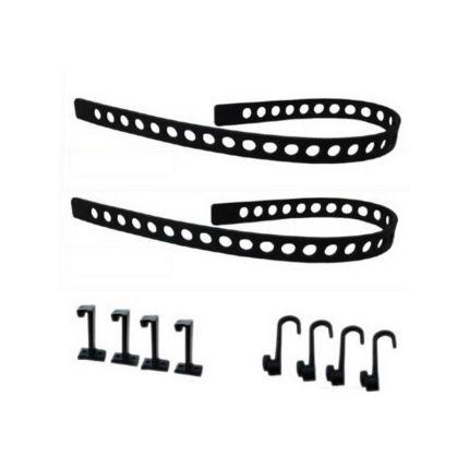 Крепление универсальное Quick Fist Rubber Tie Down Belt Pack 11075 (компл.10 ед.)