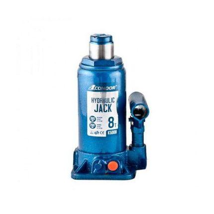 Домкрат гидравлический бутылочный CONDOR K5008 8 тонн