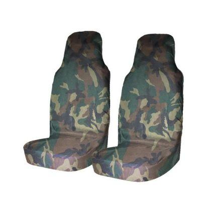 Грязезащитные чехлы на передние сиденья автомобиля Tplus НАТО
