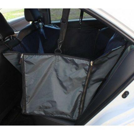 Автогамак для перевозки собак Tplus чёрный