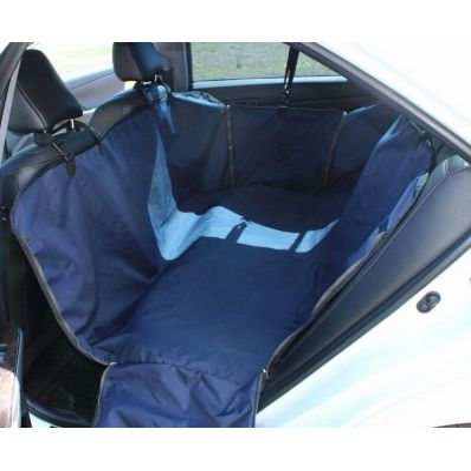 Автогамак для перевозки собак Tplus синий