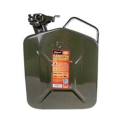 Канистра металлическая для бензина Elegant 5 литров
