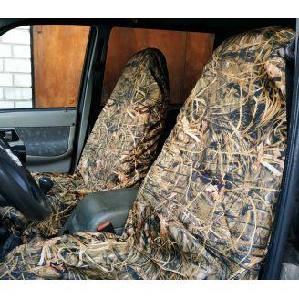 Грязезащитные чехлы на передние сиденья автомобиля ТРОСТНИК