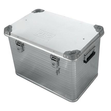 "Усиленный алюминиевый ящик для перевозки грузов 592х388х409 мм (28"") под ключ"