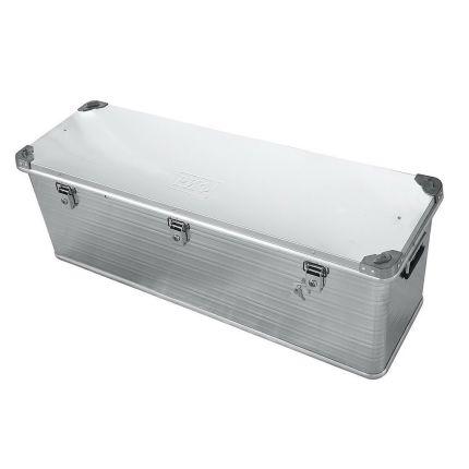 "Усиленный алюминиевый ящик для перевозки грузов 1176х385х412 мм (48.5"") под ключ"