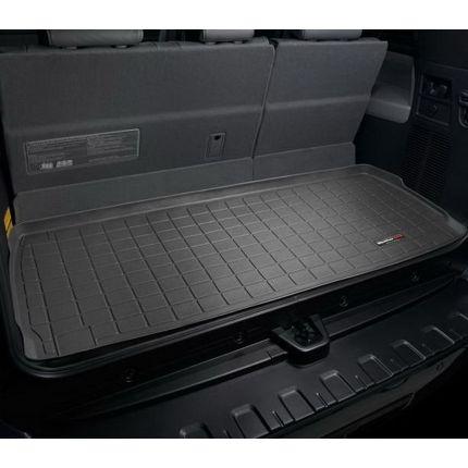 Резиновые коврики WeatherTech в багажник для авто Toyota Sequoia 2012+ (за 3-м рядом сидений)
