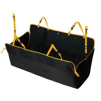 Автогамак для собак Comfort Standart чёрный