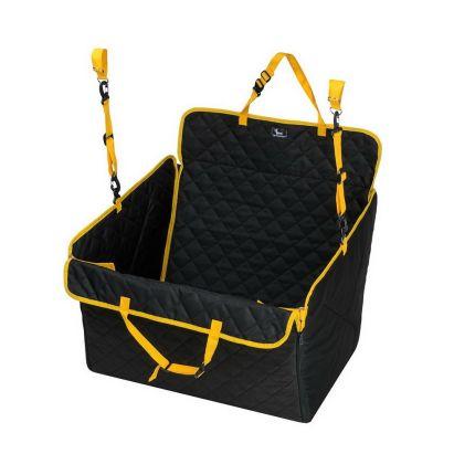 Автогамак для собак Comfort MINI чёрный