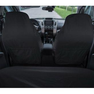 Грязезащитные чехлы на передние и задние сиденья автомобиля ORPRO ЧЁРНЫЕ