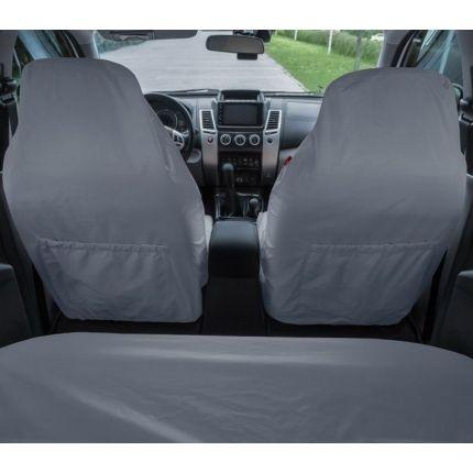 Грязезащитные чехлы на передние и задние сиденья автомобиля ORPRO СЕРЫЕ