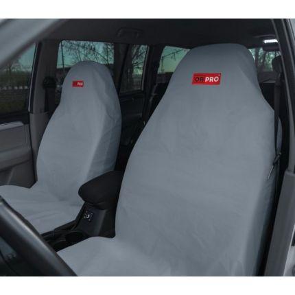 Грязезащитные чехлы на передние сиденья автомобиля ORPRO СЕРЫЕ