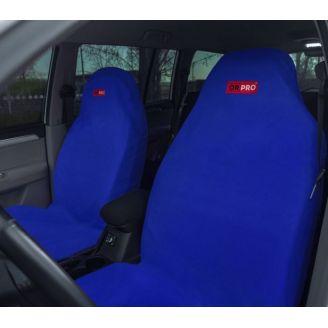 Грязезащитные чехлы на передние сиденья автомобиля ORPRO СИНИЕ