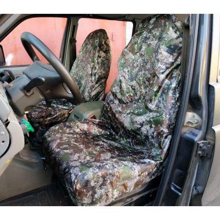 Грязезащитные чехлы на передние и задние сиденья автомобиля ЦИФРА