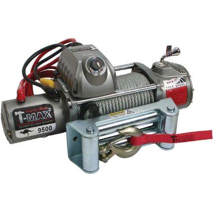 Электрическая лебёдка T-Max EW- 9500 12V/4305кг OUTBACK-RADIO