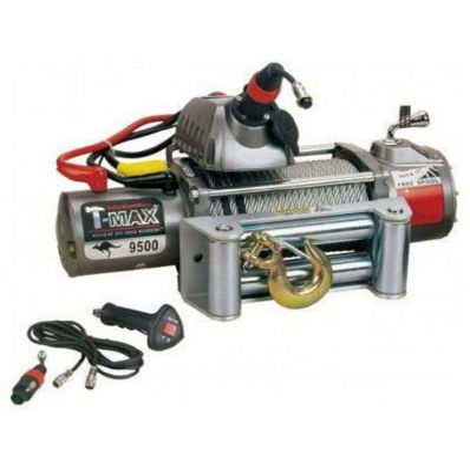 Электрическая лебёдка T-Max EW- 9500 12V/4305кг OUTBACK