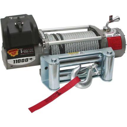 Электрическая лебёдка T-Max EW- 11000 12V/4985кг IMPROVED OFFROAD SERIES
