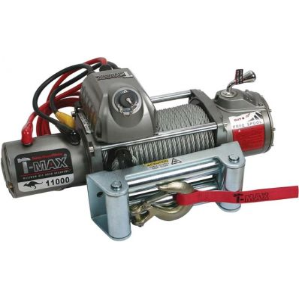 Электрическая лебёдка T-Max EW- 11000 12V/4985кг OUTBACK