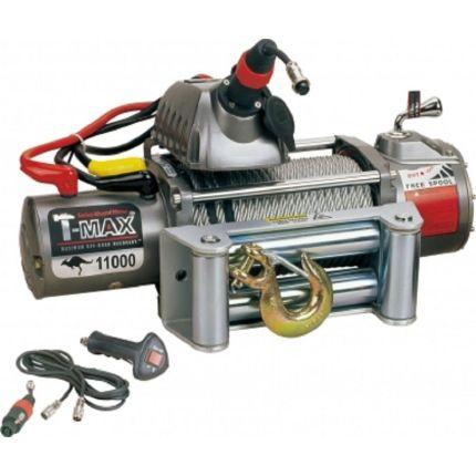 Электрическая лебёдка T-Max EW- 11000 24V/4985кг OUTBACK-RADIO