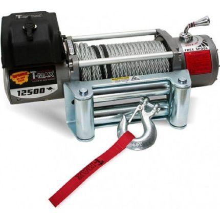 Электрическая лебёдка T-Max EW- 12500 12V/5665кг