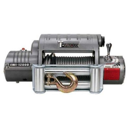 Электрическая лебёдка T-Max EWI-12000 12V/5440кг