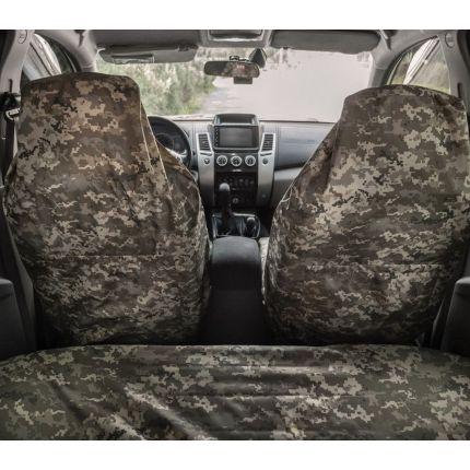 Чехлы на сидения ORPRO ПИКСЕЛЬ ВСУ (передние и задние)