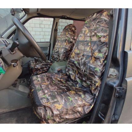 Грязезащитные чехлы на передние и задние сиденья автомобиля ОСЕННИЙ ДУБ