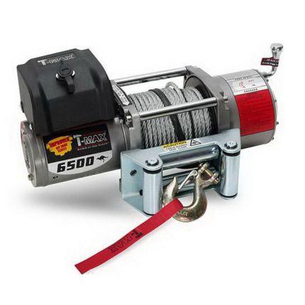 Электрическая лебедка для авто T-Max IMPROVED OFF ROAD SERIES EW- 6500 2950 кг 12 В (7309210)