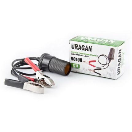 Переходник клеммы-прикуриватель (URAGAN 90100)