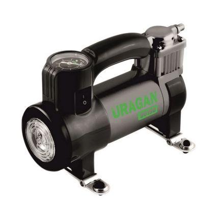 Портативный компрессор для авто, URAGAN 90190 35 л/мин