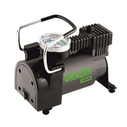Портативный компрессор для авто, URAGAN 90120 37 л/мин