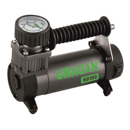 Портативный компрессор для авто, URAGAN 90180 35 л/мин