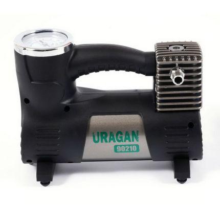 Портативный компрессор для авто, URAGAN 90210 40 л/мин
