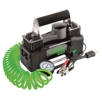 Двухпоршневой компрессор для внедорожника, URAGAN 90170 85 л/мин