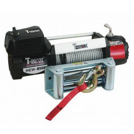 Электрическая лебёдка T-Max HEW-8500 12V/3850кг X Power series ( Waterproof)