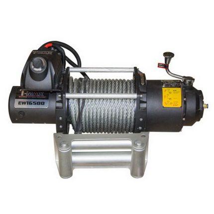 Электрическая лебедка для внедорожника, T-Max FEW-16500/7480 кг 12В (8657100)