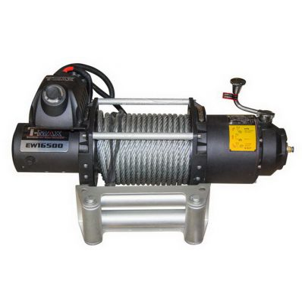 Электрическая лебедка для внедорожника, T-Max FEW-16500 7480 кг 24 В (8658100)
