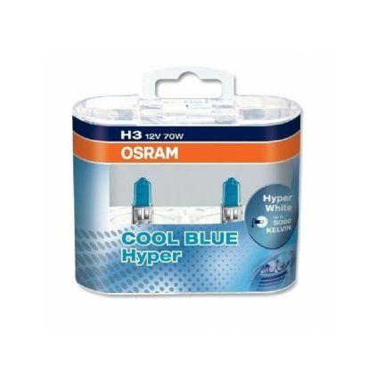 Галогеновая лампа Osram COOL BLUE HYPER 2x H3 (PK22S) OS 62151 CBH Компл (2шт)